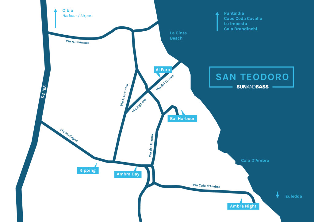 Map of San Teodoro